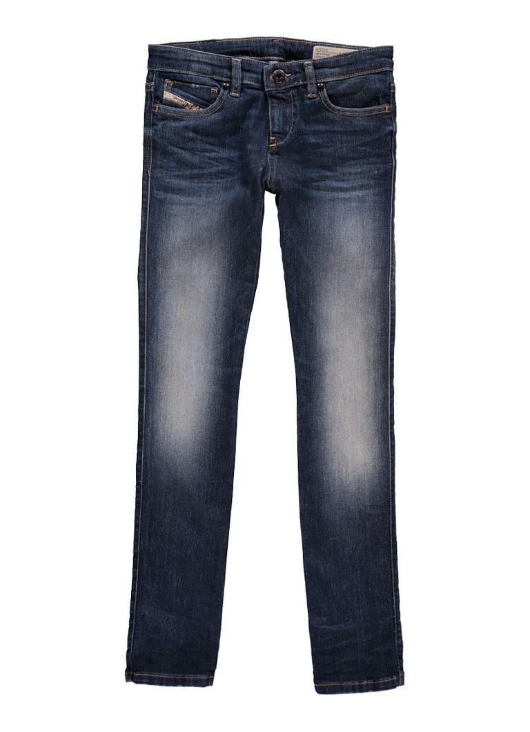 Diesel Super slim skinny fit jeans met faded look