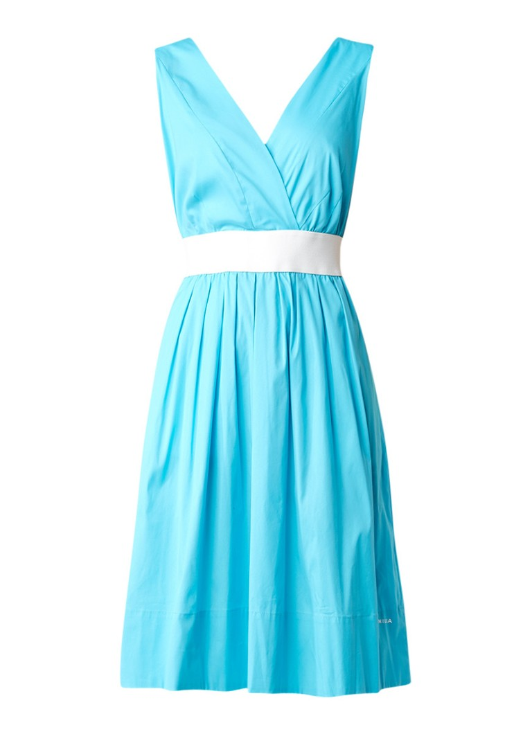 Vanilia Alijn jurk van poplin met