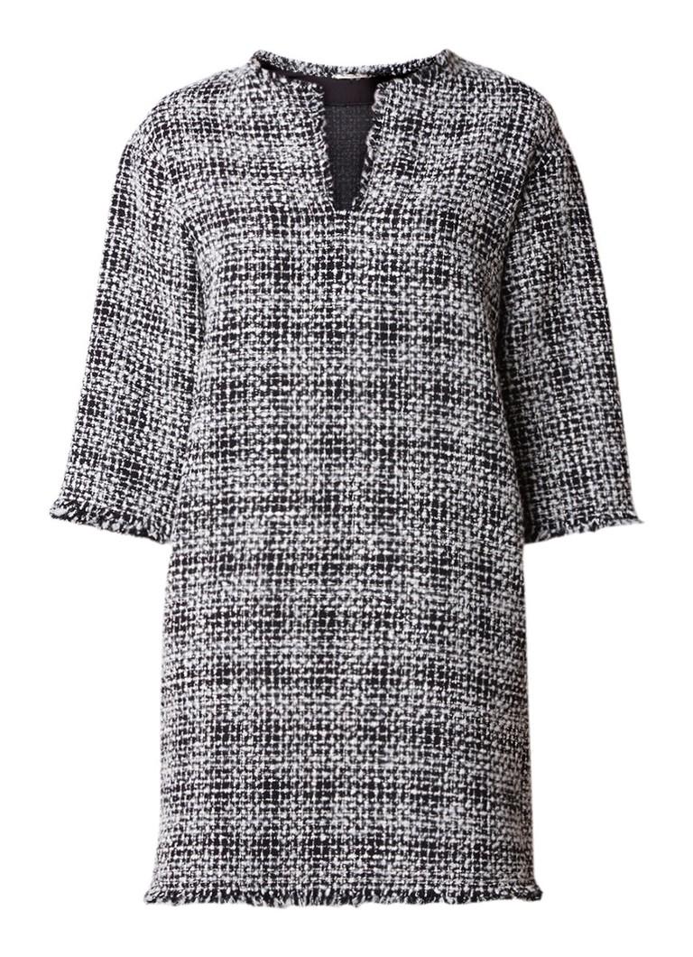 Vanilia Tuniekjurk van tweed met