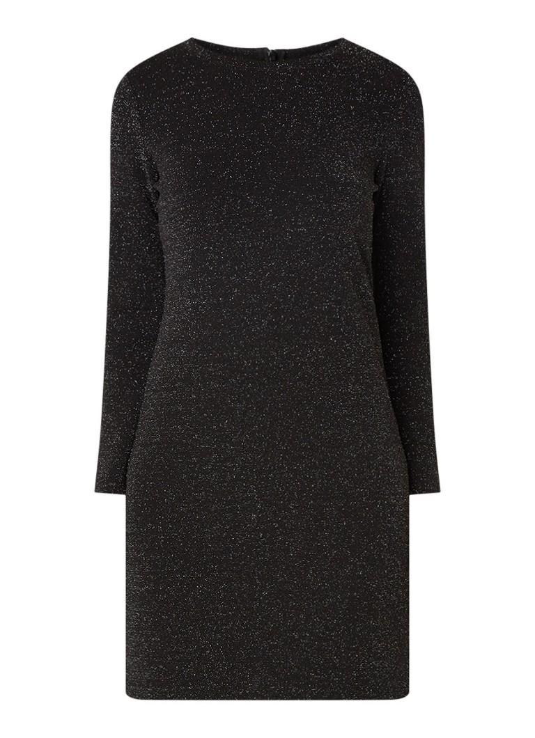 Vanilia Tuniekjurk van jersey met lurex zwart