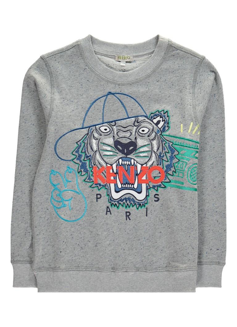 KENZO Sweater met logoborduring