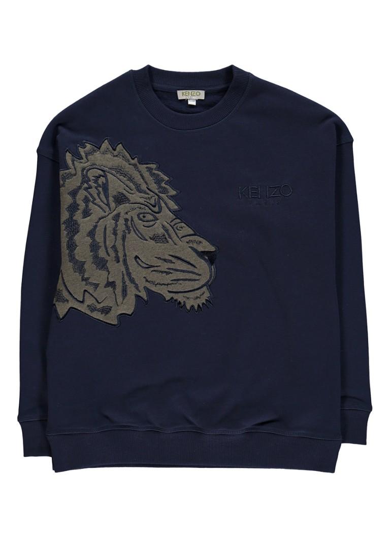KENZO Ellis sweater met logoborduring