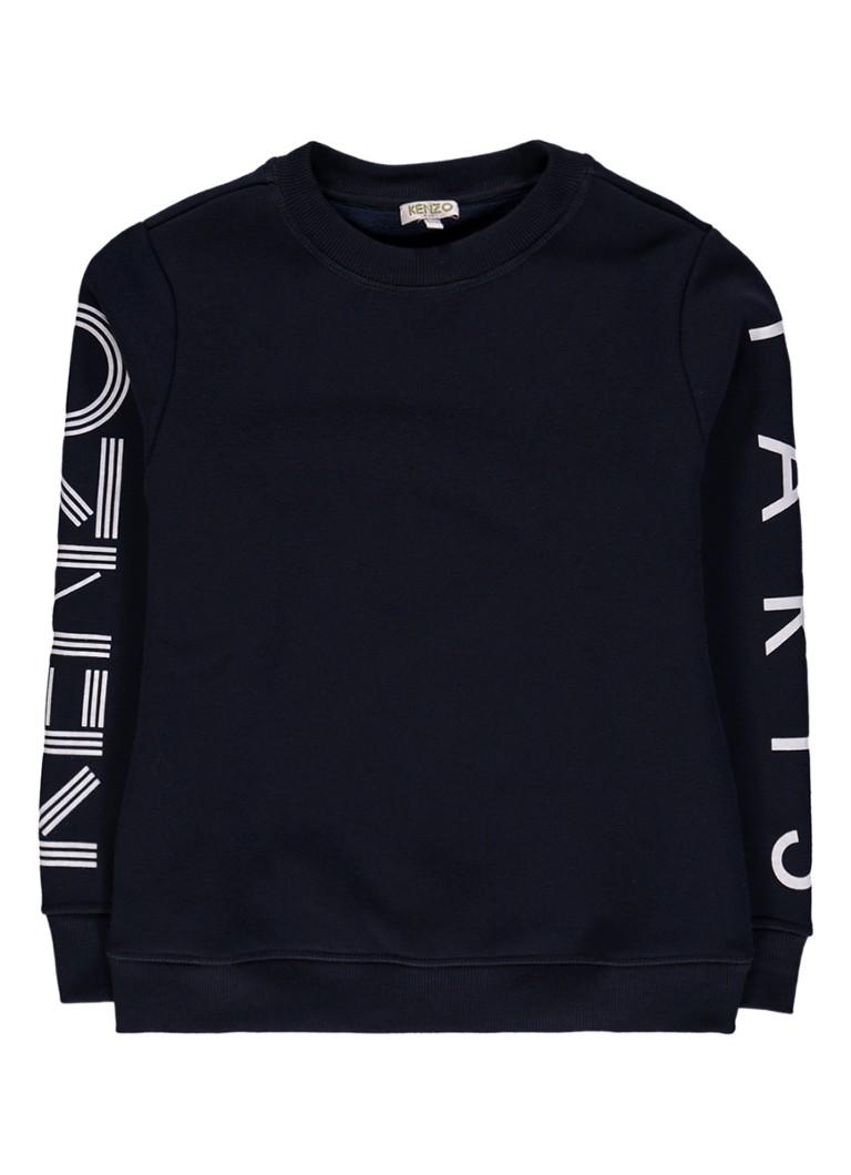 KENZO Sweater met logo opdruk