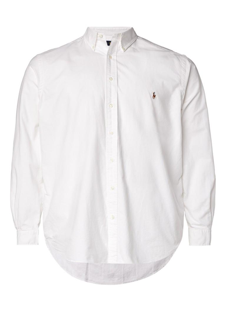 Ralph Lauren Button down-overhemd met logoborduring