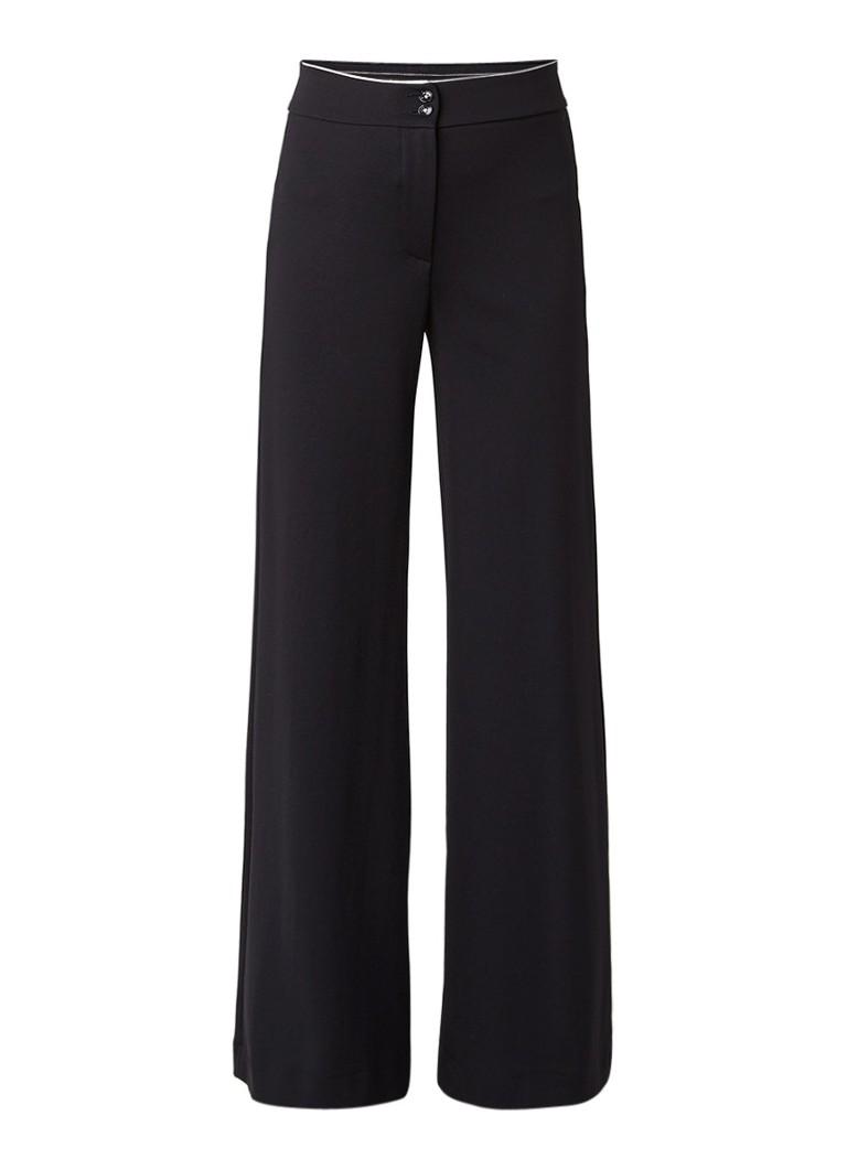 Vanilia Flaired stretch pantalon met hoge taille