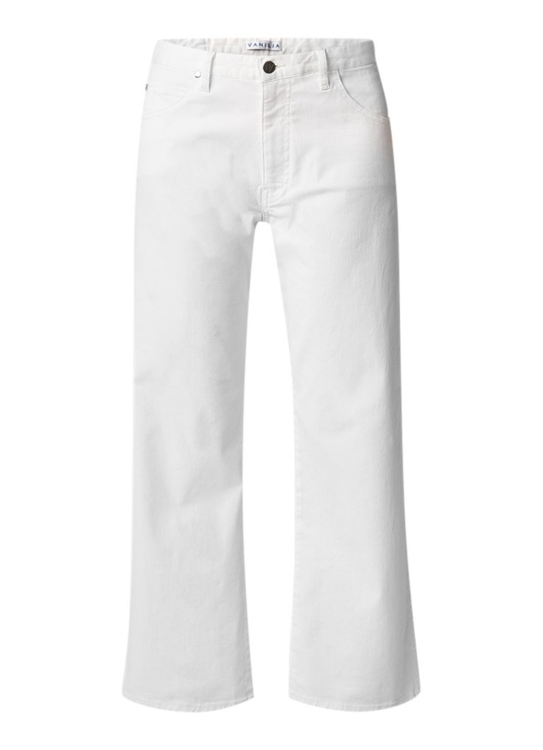 Vanilia High rise wide fit jeans met stretch