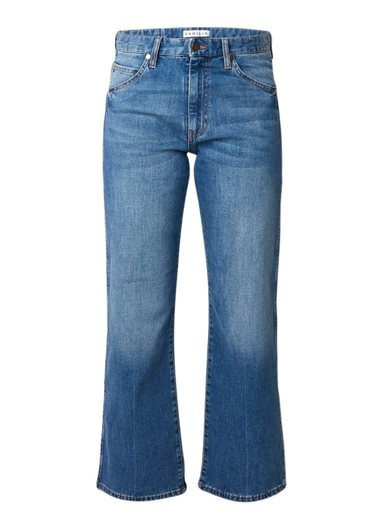 Vanilia High rise cropped straight fit jeans