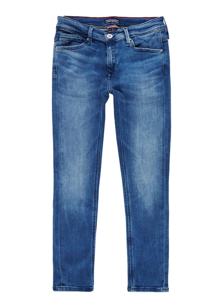 Tommy Hilfiger Skinny fit jeans met medium wassing