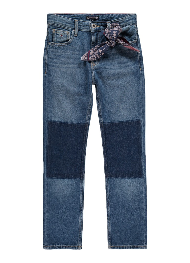 Tommy Hilfiger Randy relaxed fit jeans met sjaal detail