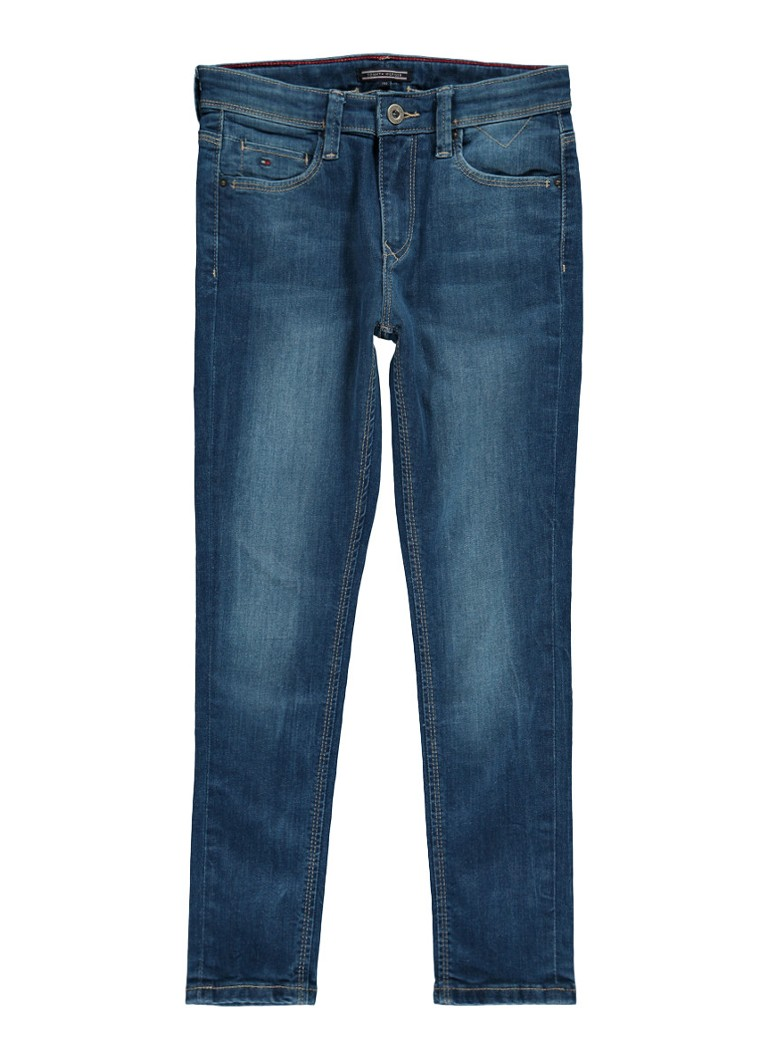 Tommy Hilfiger Simon skinny fit jeans in medium wassing
