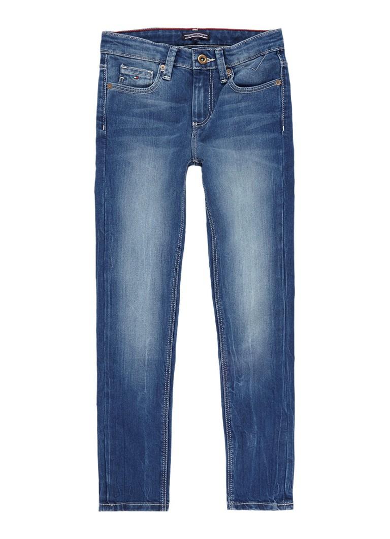 Tommy Hilfiger Scanton slim fit jeans met verwassen look