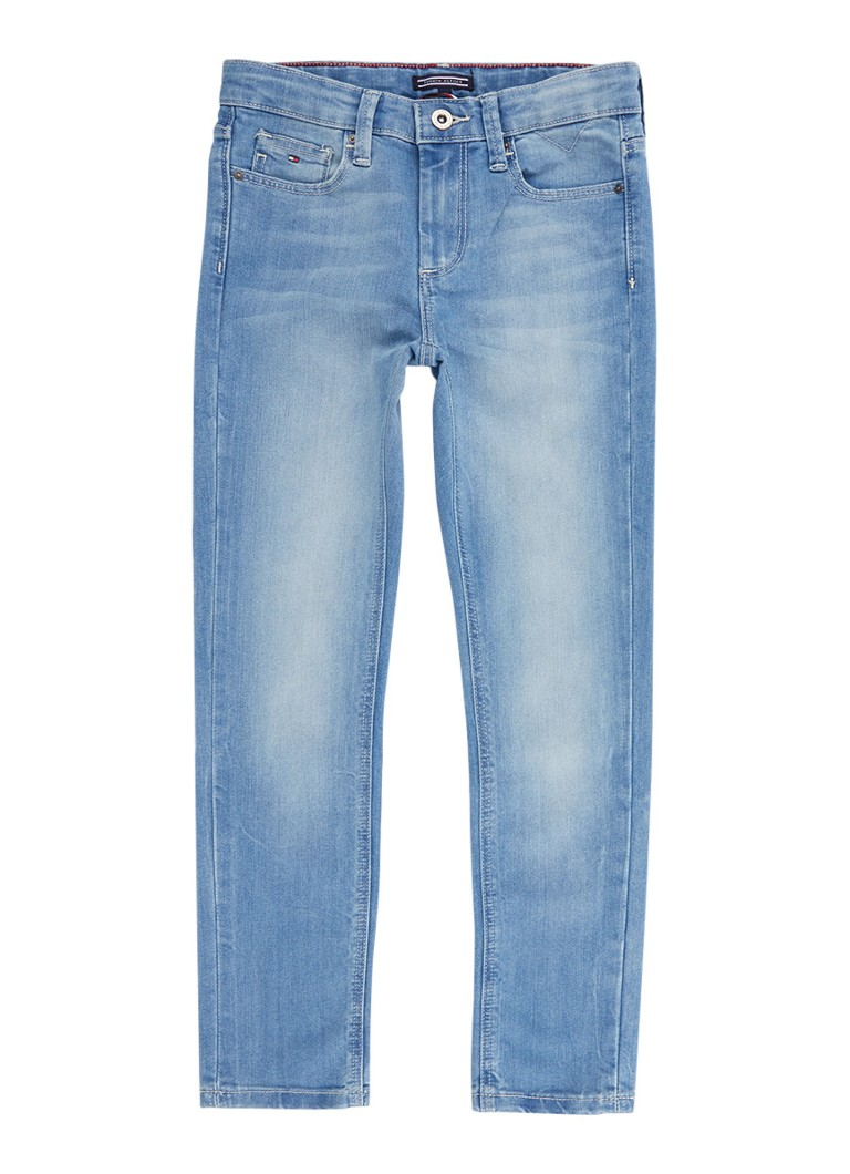 Tommy Hilfiger Scanton slim fit jeans met faded look