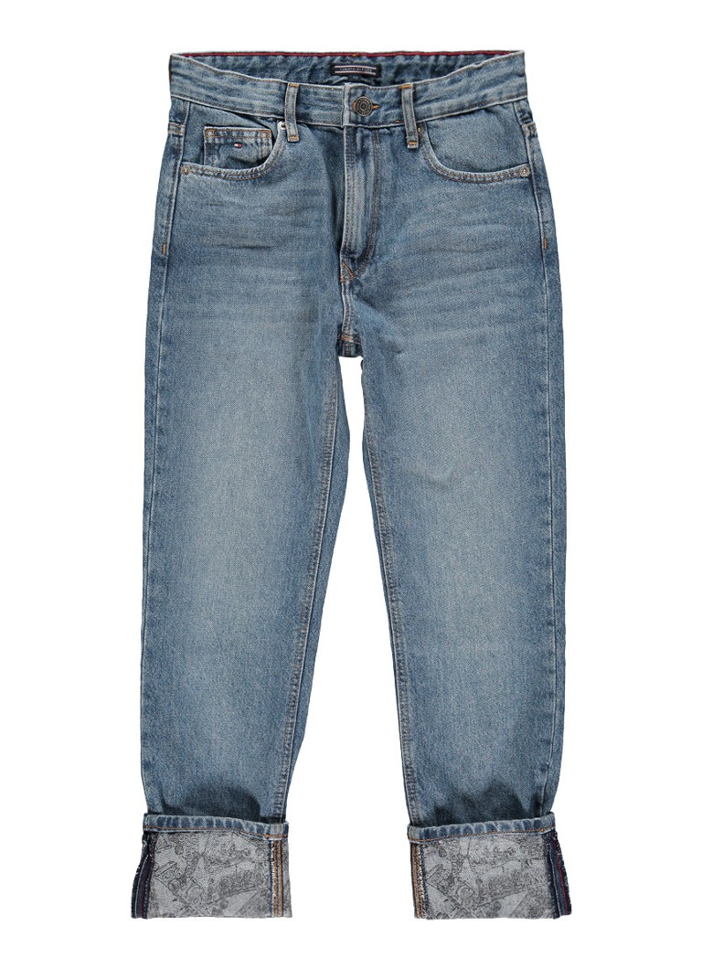 Tommy Hilfiger Randy straight fit jeans met faded look