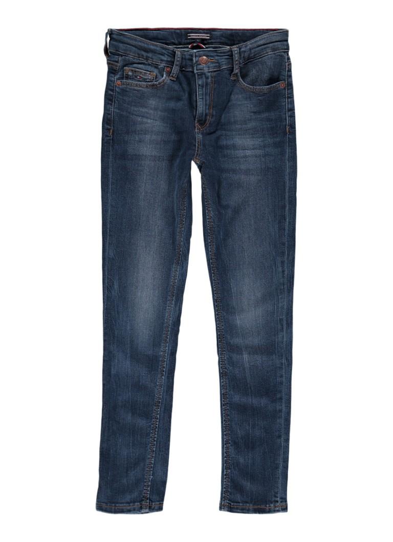 Tommy Hilfiger Simon slim fit jeans met faded look