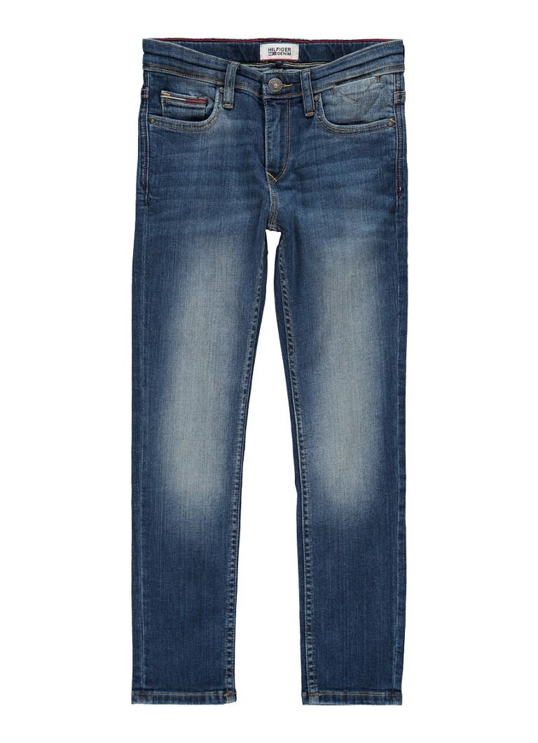 Tommy Hilfiger Scanton slim fit jeans met medium wassing