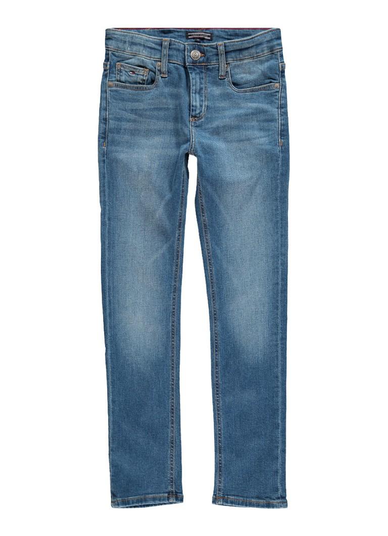 Image of Tommy Hilfiger Slim fit jeans met faded look