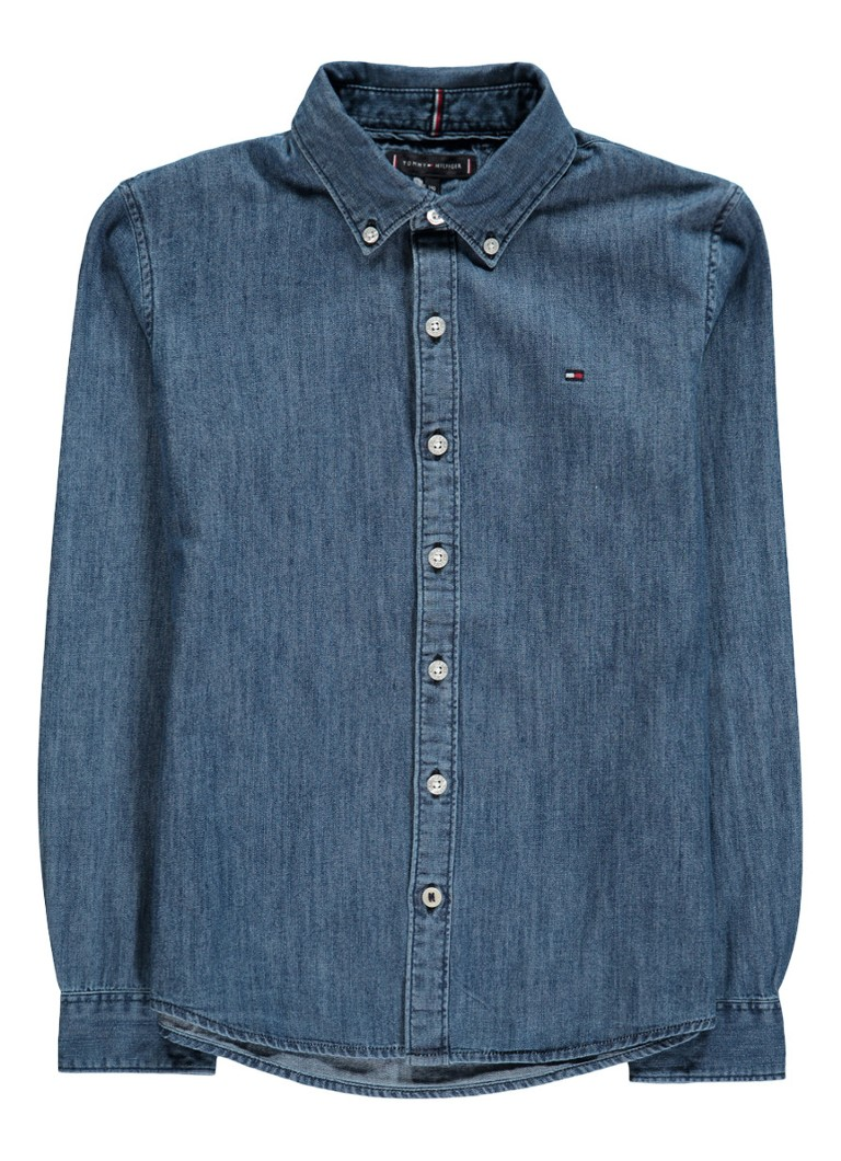 Image of Tommy Hilfiger Overhemd van denim