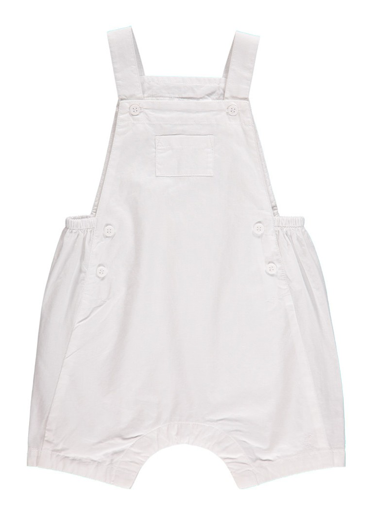 Petit Bateau Mouwloos babypak met knopen