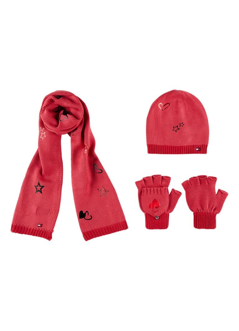 Tommy Hilfiger Gift Pack van sjaal, handschoenen en muts 3-d