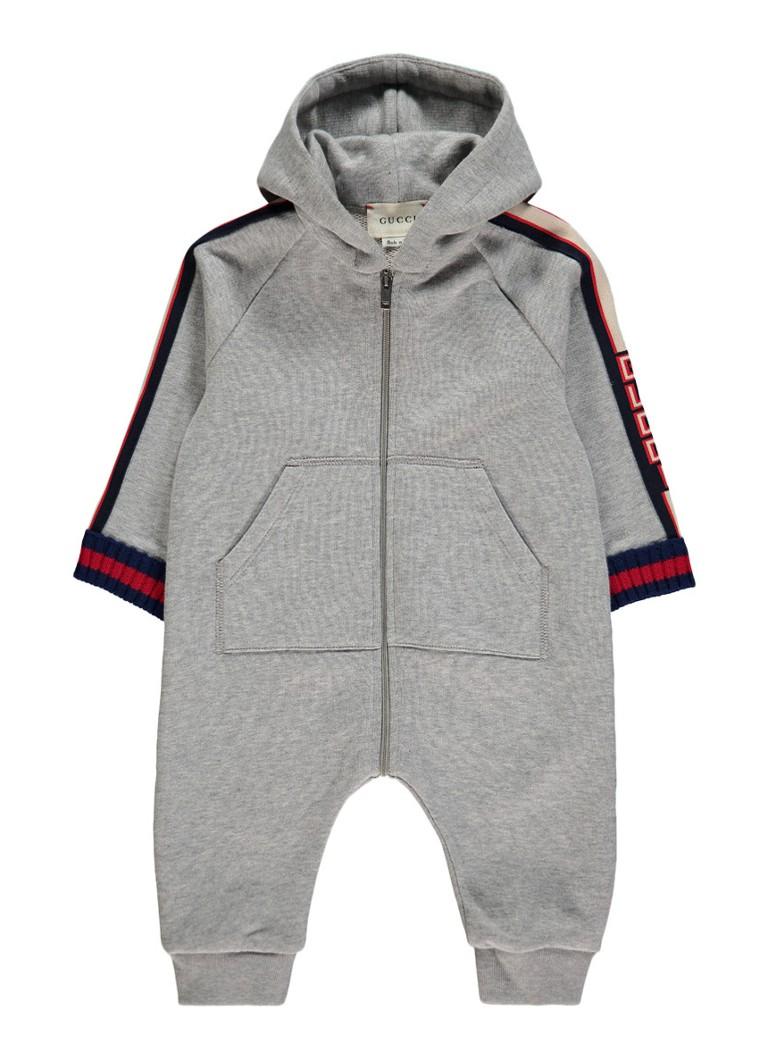 Image of Gucci Babypak van sweatstof met logobies