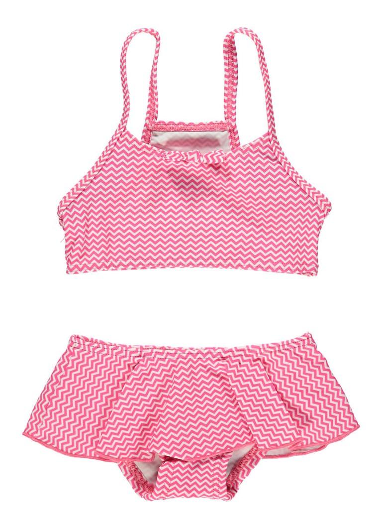 Sanetta Bikini met zigzag dessin