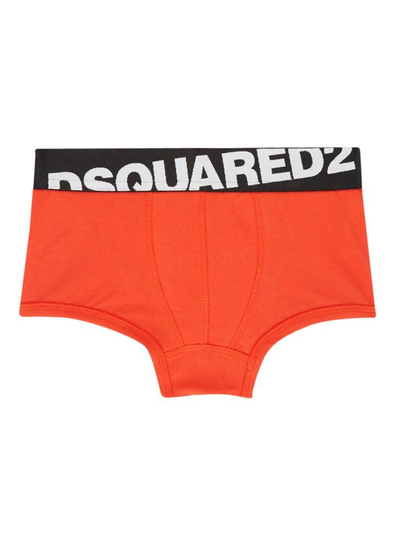 Image of Dsquared2 Boxershort in uni met logoband