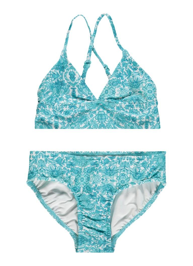 Seafolly Triangel bikini met bloemendessin