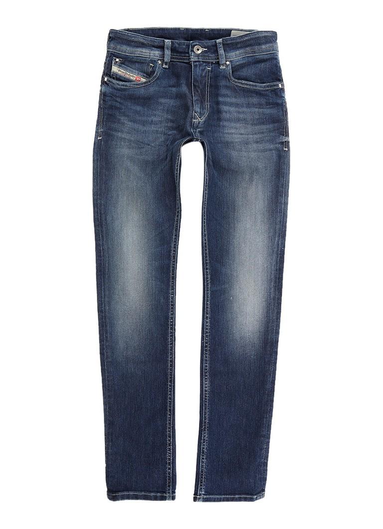 Diesel Sleenker-J-N skinny fit jeans met verwassen look