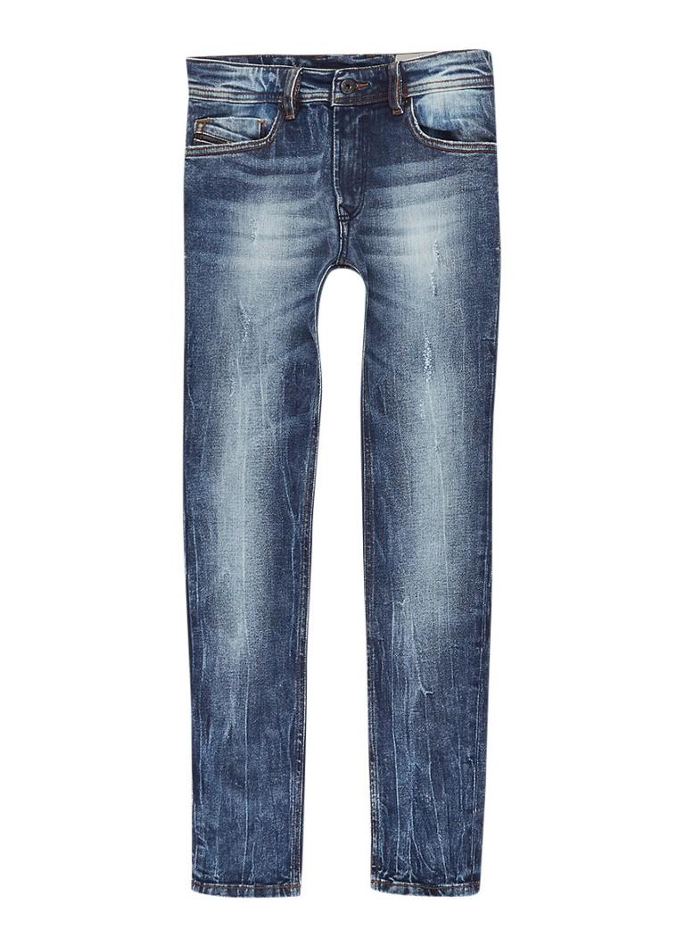 Diesel Sleenker slim fit jeans met faded look