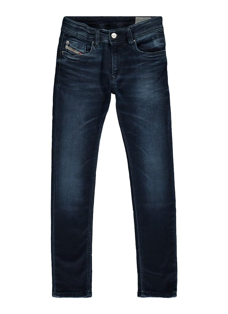 Diesel Sleenker slim fit jeans in donkere wassing