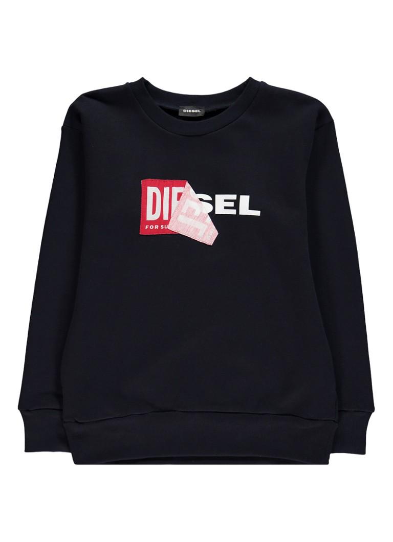 Diesel Sally sweater met logoprint
