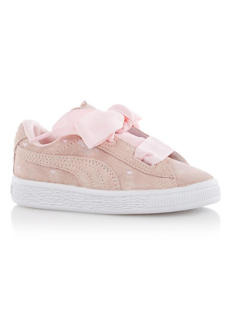 Puma Heart Valentine sneaker van suède