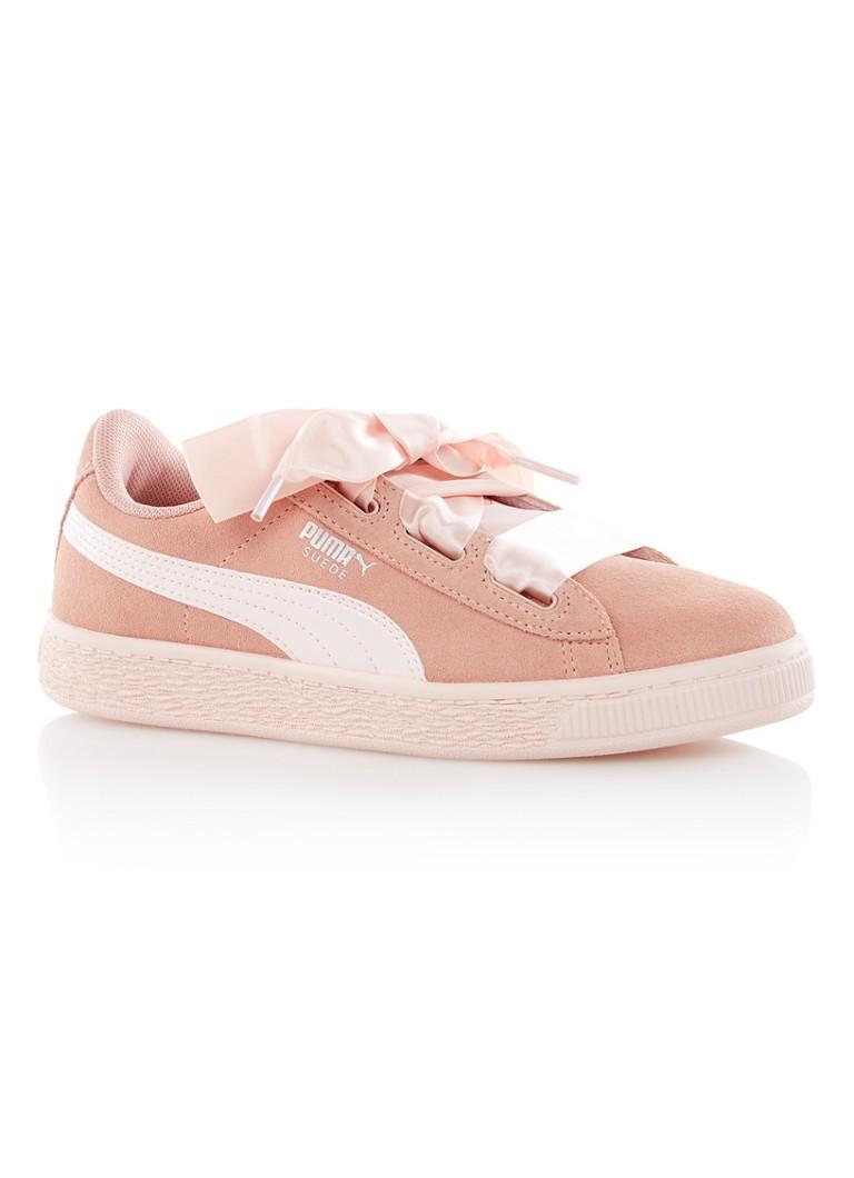 Puma Heart Jewel sneaker van suède