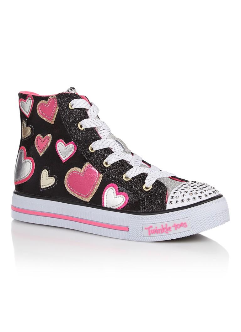 6db0b36578c Skechers Twinkle Toes sneaker met lichteffect in de neus