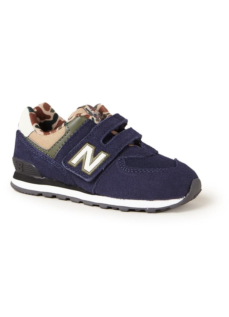 New Balance IV574 sneaker van suède