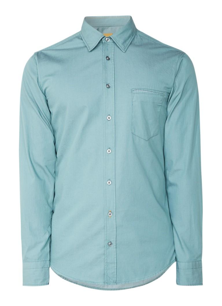 HUGO BOSS Classy regular fit overhemd met borstzak