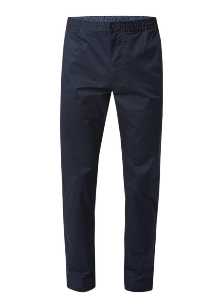 Calvin Klein Pall tapered fit chino met elastische tailleband