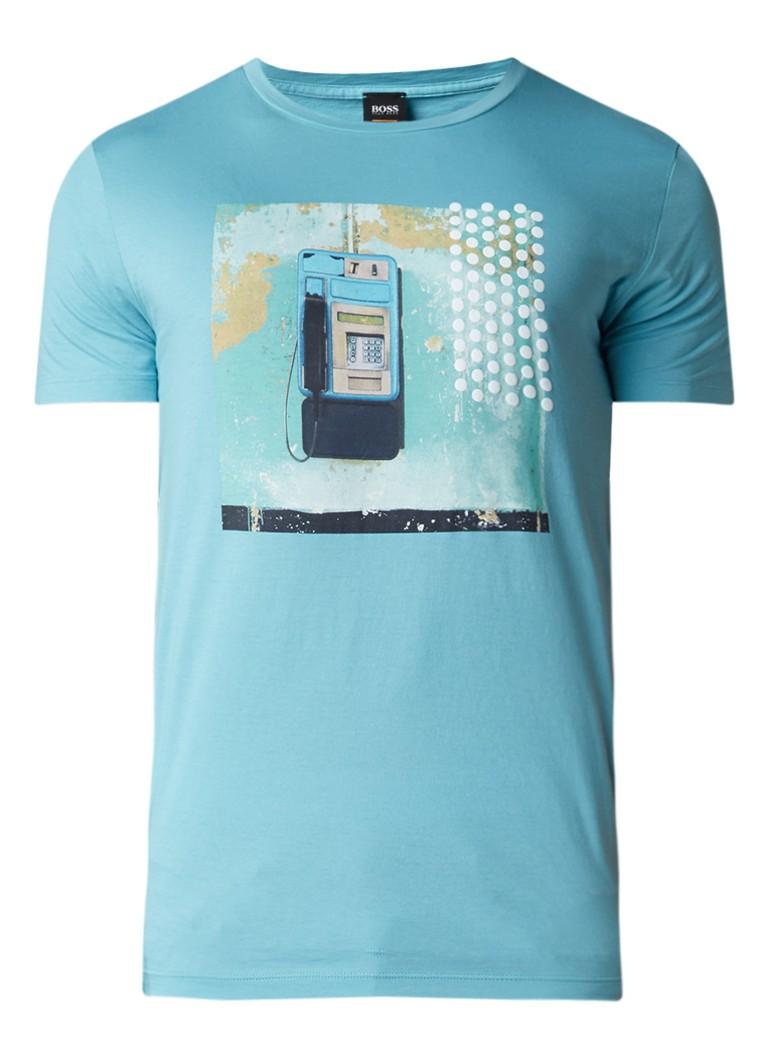 HUGO BOSS Timen T-shirt met print
