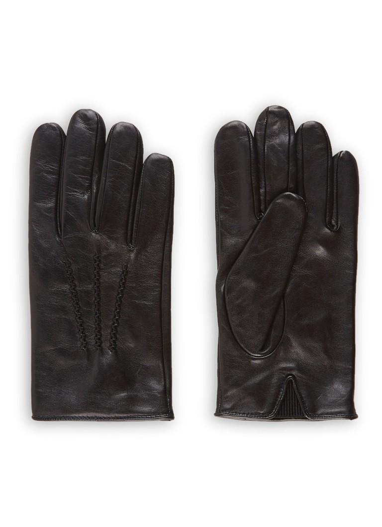 Image of HUGO BOSS Grifin handschoenen van lamsleer
