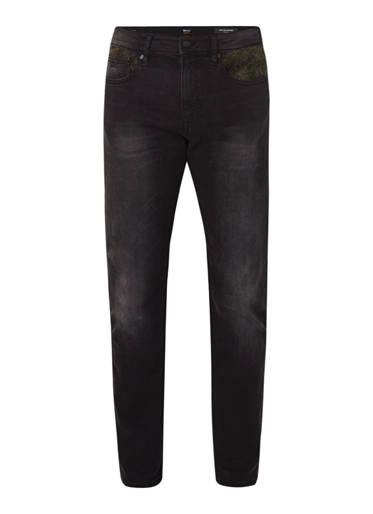 HUGO BOSS Delaware slim fit jeans met stretch
