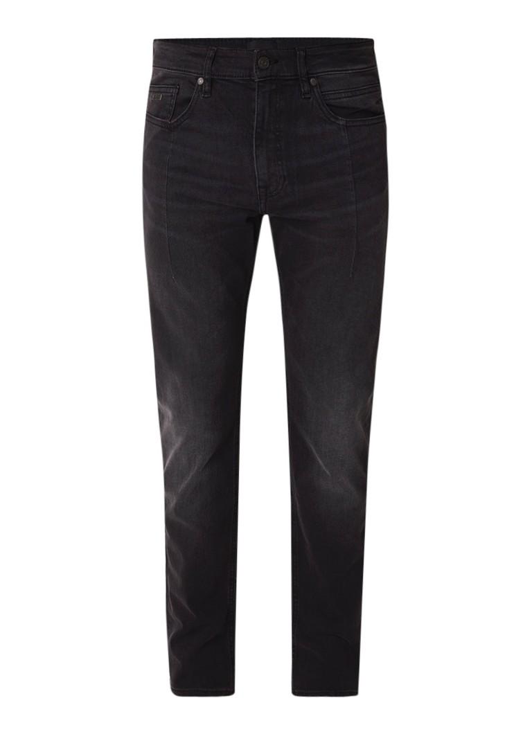 HUGO BOSS Delaware slim fit jeans met coupenaad op pijp