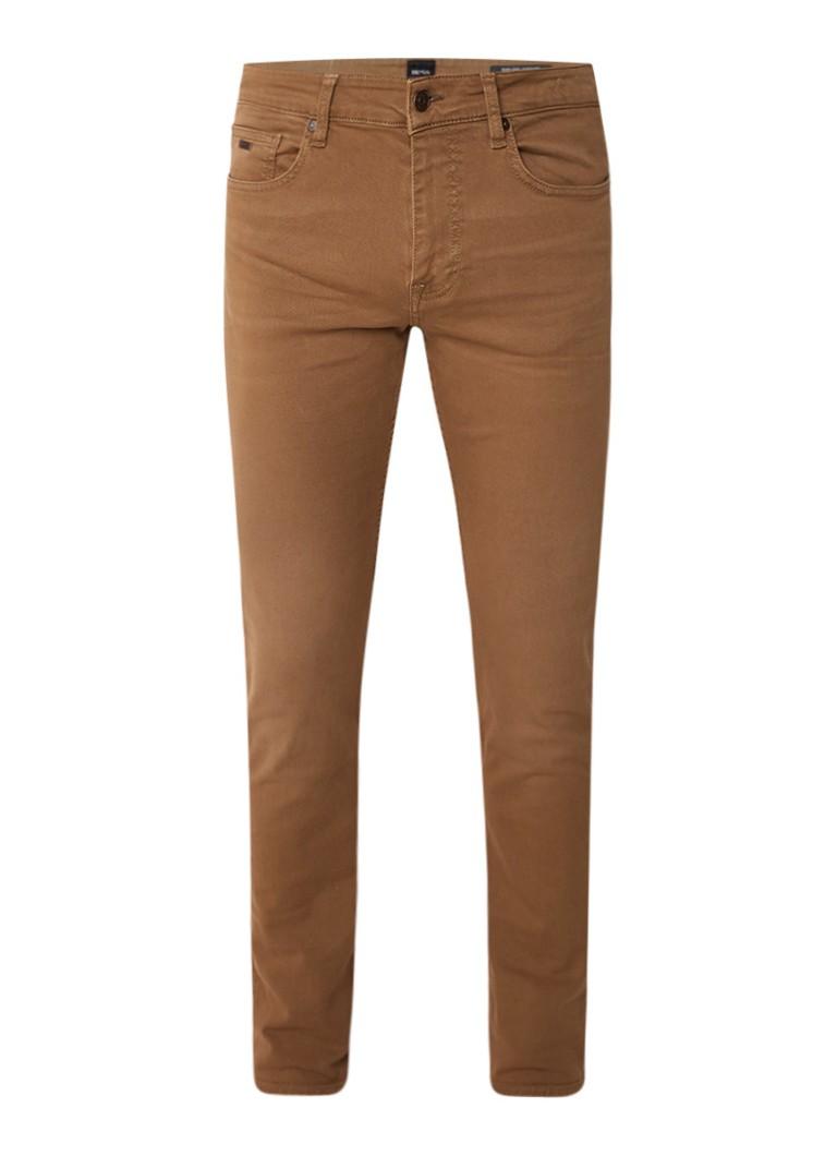 HUGO BOSS Delaware mid rise slim fit jeans met stretch