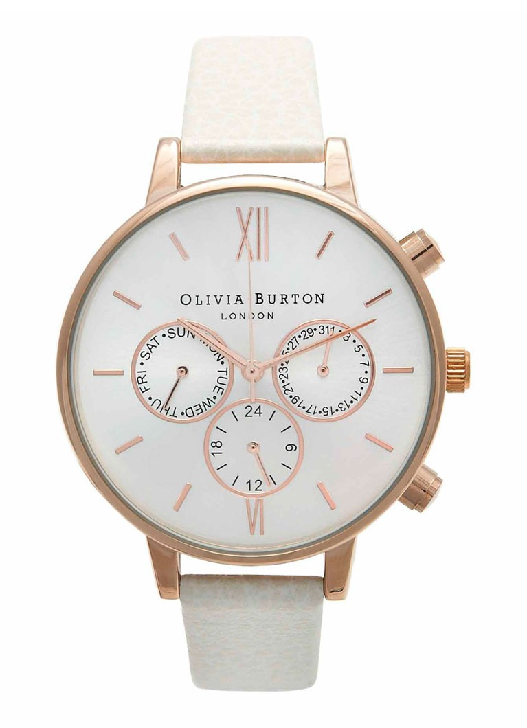 Olivia Burton Horloge Chrono Detail OB13CG01C