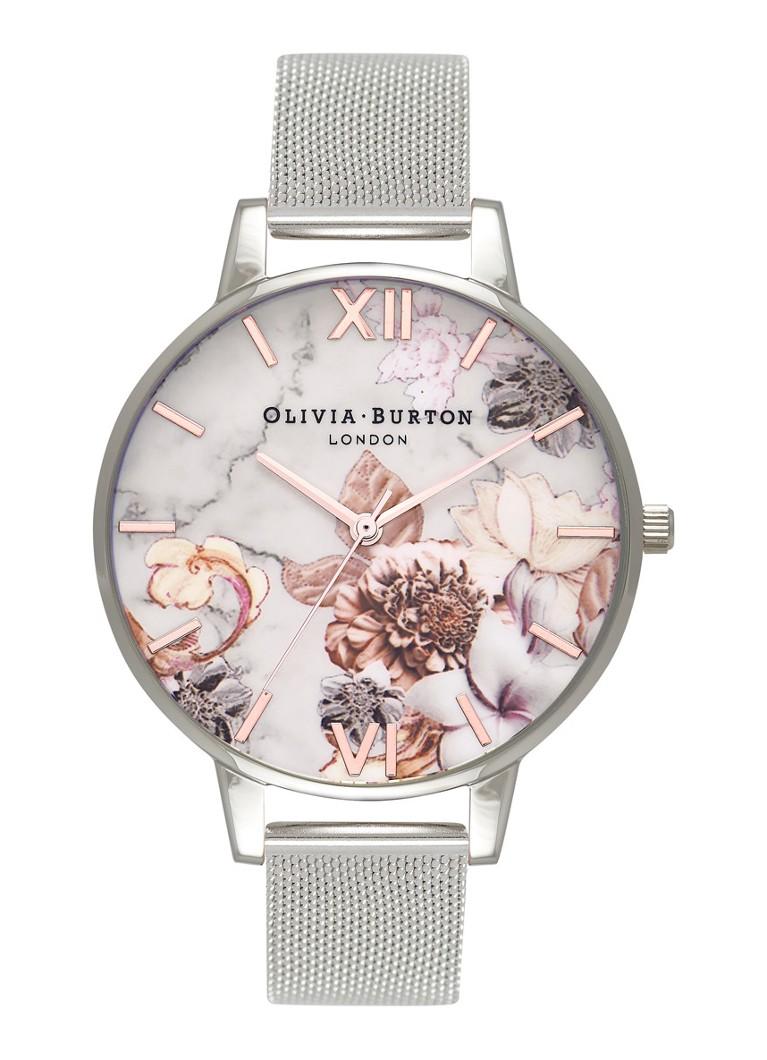 Olivia Burton Horloge Marble Floral OB16CS10