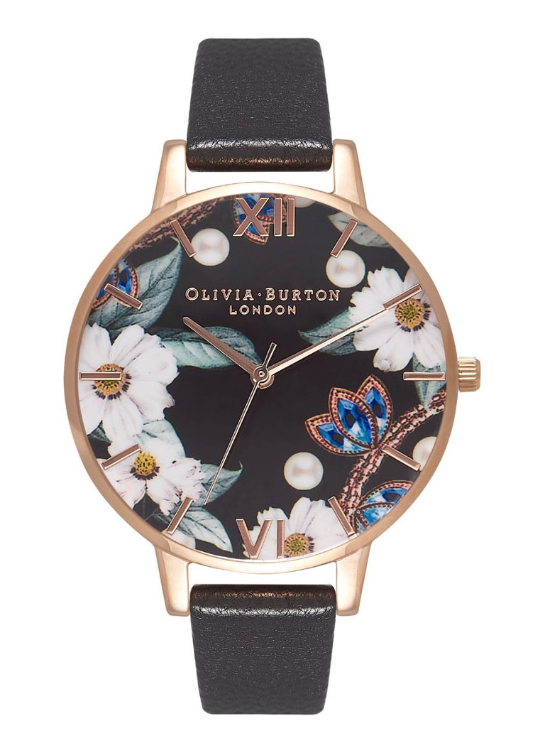 Olivia Burton Horloge Big dial bejewelled OB16BF04