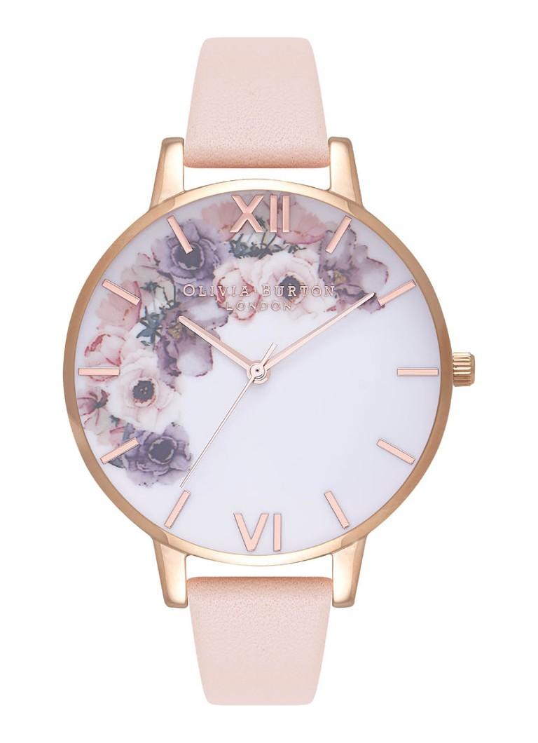 Olivia Burton Horloge Watercolour Florals OB16PP30