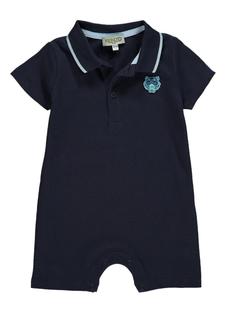 KENZO KIDS Babypak met polokraag en merkembleem kopen