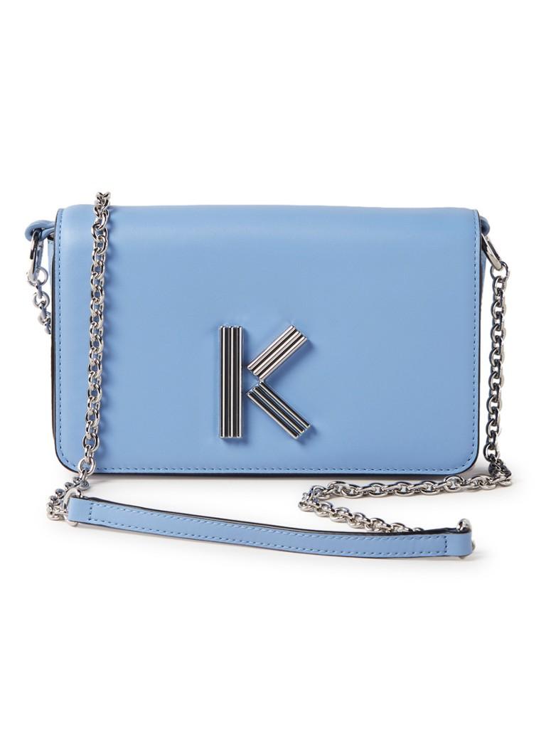 KENZO Chainey K-Bag crossbodytas van kalfsleer