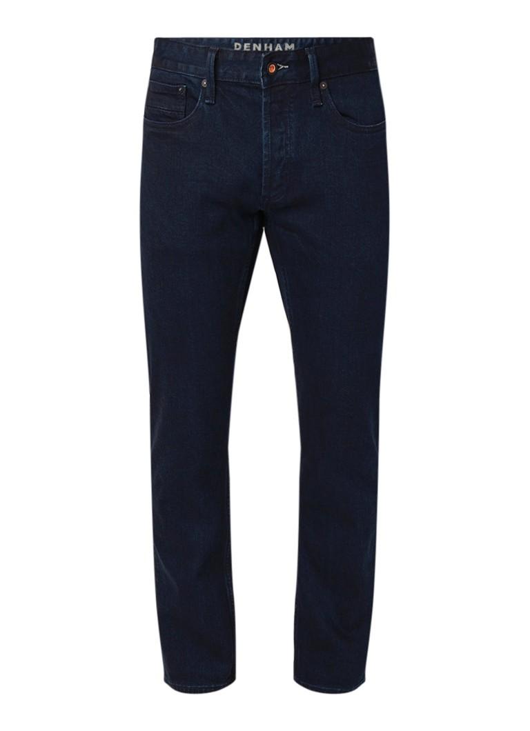 Denham Hammer Carrot tapered fit jeans met donkere wassing