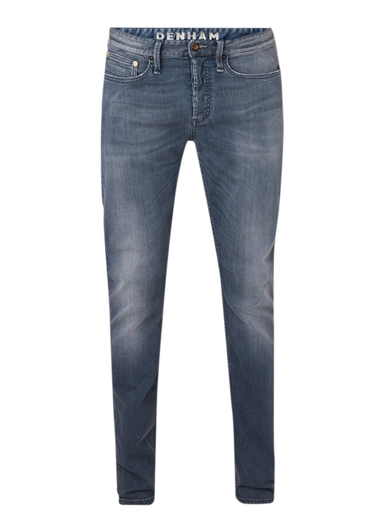 Denham Bolt skinny fit jeans met medium wassing